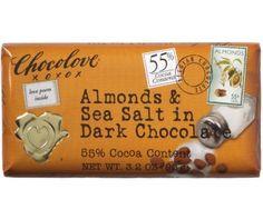 Almonds & Sea Salt in Dark Chocolate
