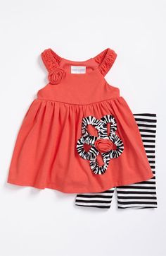 Iris & Ivy Dress & Shorts Set (Infant) available at Nordstrom