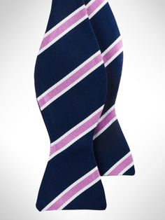 a6b56a25a432 English Repp Stripe Bow Tie - Polo Ralph Lauren Bow Ties - RalphLauren.com  Formal