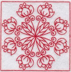 Embroidery | Free Machine Embroidery Designs | Bunnycup Embroidery | Spring Time Quilt Blocks