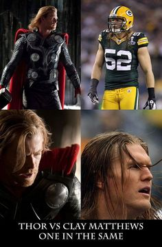 Clay Matthews is an AVENGER