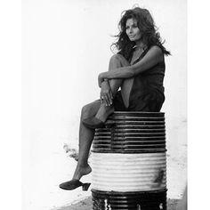 Sofia Loren, Tazio Secchiaroli, 1972. Tazio Secchiaroli was the greatest of the italian paparazzi, he began his career as Fellini's official set photographer and spent 20 years, during all over the 1950s and 1970s, as Sophia Loren's personal photographer.