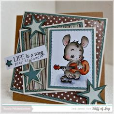 Whiff of Joy DT - Stamping Kit - Henry mit Gitarre