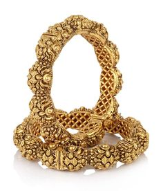 Jewels Galaxy Royal Style Broad Gold Plated Antique Bangles, http://www.snapdeal.com/product/jewels-galaxy-royal-style-broad/1250178458