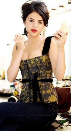 Selena Gomez ♥ Yellow & Black