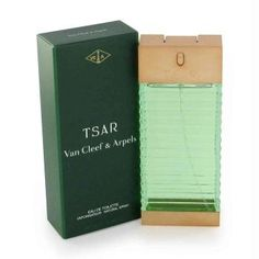 TSAR by Van Cleef & Arpels   Launched by the design house of Van Cleef & Arpels in 1989, TSAR is classified as a sharp, spicy, lavender, amber fragrance. This masculine scent possesses a blend of rosemary, cinnamon and jasmine. Accompanied by a background of oakmoss and sandalwood. It is recommended for daytime wear.  Part of my personal collection. Love it!  Eau De Toilette Spray 3.4 oz [FX402197] - $29.25 : Fragrancemanshoppe.com, Explore, Discover and Shop