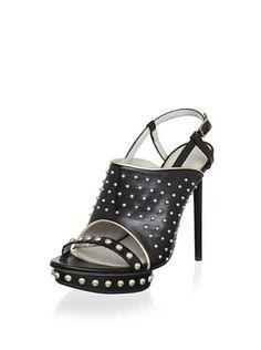 -25,800% OFF Jason Wu Women's Marlene Platform Slingback Sandal (Black/Gold)