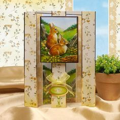 Hunkydory Spring is in the Air designer decoupage