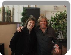 Steve Hackett with Keith Emerson - 2014