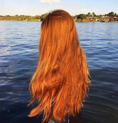 #inhhair #inhbabe #redhair #coloredhair #hairinspo #hairextension #ponytail Cheveux Oranges, Red Hair Inspo, Clip In Ponytail Extensions, Ginger Hair Color, Rapunzel Hair, Henna Hair, Long Red Hair, Copper Hair, Auburn Hair
