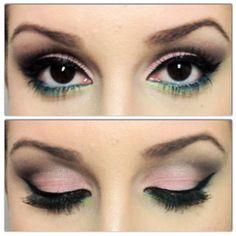 maquiagem passo a passo olhos castanhos - Pesquisa Google