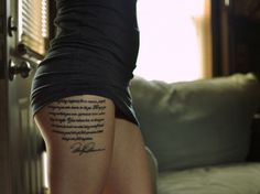 Marilyn Monroe Quote Tattoo By Molly Kiser | Ruth Tattoo Ideas || love the look of this, don't know if i have a quote that long though!