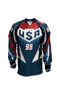 Official USA National Team - Ultra Pro paintball jersey Usa National Team, Paintball, Motorcycle Jacket, Sports, Jackets, Men, Tops, Fashion, Hs Sports