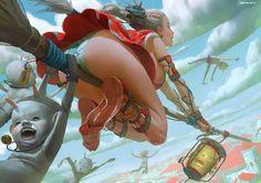 I Want To Fly by ZeenChin on DeviantArt