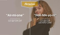 hermione Hermione, Mi One, France Vs, Vs The World, One Hair, Noms