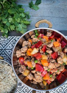 Pork and Vegetable 'Menudo' Stir-fry