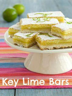 Key Lime Bars recipe