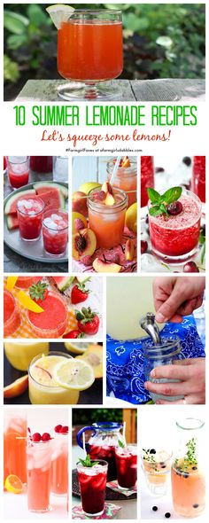 10 Summer Lemonade Recipes {#FarmgirlFaves} » a farmgirl's dabbles