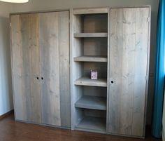Steigerhouten meubelen zelf maken 1 | dana | Pinterest | Wardrobes ...