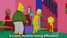And the only things you cry over are fictional. | 29 Signs You're The Lisa Simpson Of Your Family