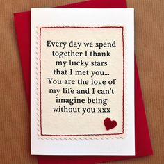 255 best diy valentines cards images on pinterest in 2018 handmade lucky stars anniversary card m4hsunfo