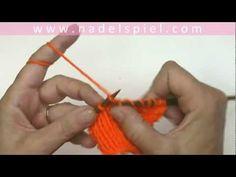 Stricken lernen mit eliZZZa #05 * Rechte Maschen verschränkt abstricken - YouTube