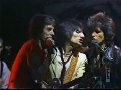 """10-7 1978: The Rolling Stones perform their new single, """"Beast Of Burden,"""" & """"Some Girls"""" on tonight's episode of NBC-TV's Saturday Night Live."""