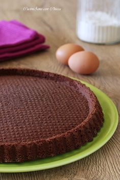 Base per crostata morbida al cacao