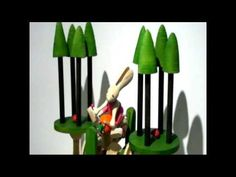 Black Forest Home Trainer Automata by Malcolm Brook - YouTube