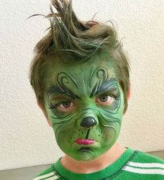 christmas costumes diy DIY Grinch Christmas Costume Idea Lovelane Designs- Unique Handmade one of a kind halloween costumes Halloween Diy Kostüm, Grinch Halloween, Grinch Party, Halloween Makeup, Halloween Christmas, Costume Halloween, Halloween 2020, Christmas Makeup, Kids Halloween Face Paint