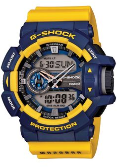 G-Shock GA-400 Series Worldtime -Navy/Gold