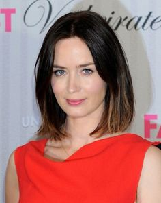 Brunette Ombre Hair Trend: Emily Blunt