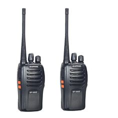 Walkie Talkie Baofeng BF-666S 2PCS Portable Two Way Radio UHF400.00- 470.00MHz High Quality CB Radios with free shipping