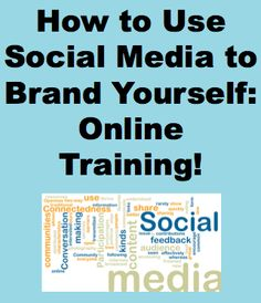 Want to use social media to leverage yourself as an expert in your field? Our social media branding online training will show you how!