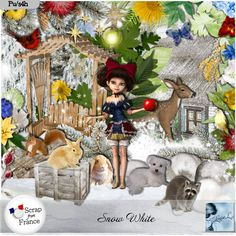 **NEW** Snow White by Louise L Available @ http://scrapfromfrance.fr/shop/index.php?main_page=index&manufacturers_id=113 http://www.paradisescrap.com/fr/145_louisel?n=60 https://www.e-scapeandscrap.net/boutique/index.php?main_page=index&cPath=113_244 http://www.digiscrapbooking.ch/shop/index.php?main_page=index&manufacturers_id=135