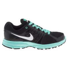 My running shoes! Nike Women's Running Shoes - Air Relentless 2 in Black and Turquoise. They are GORGEOUS
