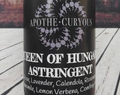 Apple Cider Vinegar based astringent from Apothecuryous on Etsy. Beneficial for all skin types. Verbena, Calendula, Apple Cider Vinegar, Body Care, Lavender, Organic, Unique Jewelry, Handmade Gifts, Etsy
