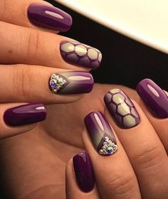 Top Trendy Burgundy Manicure Designs to Majestic Burgundy Nail Art Designs The best gallery Burgundy nails are a la mode for hundreds of years. Burgundy Nail Designs, Burgundy Nail Art, Elegant Nail Designs, Elegant Nails, Cute Nail Designs, Cute Gel Nails, Diy Nails, Nail Swag, Nail Polish