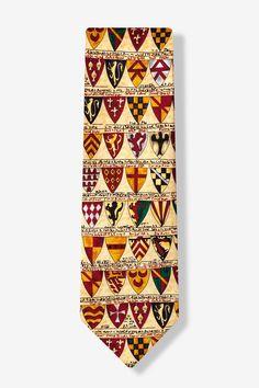 Heraldic Shields Tie by Alynn Novelty