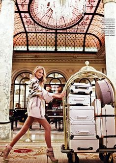 collections-from-vogue:   Hana Soukupova For Tatler Russia May 2010