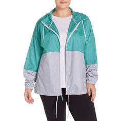 Plus Size Women's Columbia 'Flash Forward' Windbreaker Jacket ($50) ❤ liked on Polyvore featuring plus size women's fashion, plus size clothing, plus size activewear, plus size activewear jackets, miami, plus size, plus size sportswear, columbia sportswear, columbia and columbia activewear