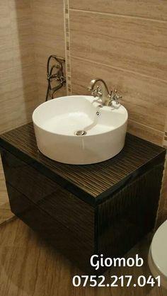 Giomob Brown bathroom furniture