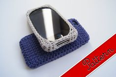 Crocheted iPhone 4 / 4s and 5 / 5s Case / Cover Pattern PDF