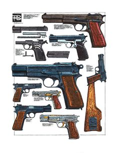 FN Browning High Power Variety