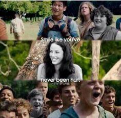 Sonríe como si nunca te hubieran lastimado