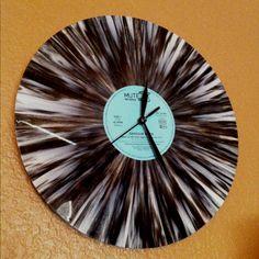 Vintage Vinyl Record Clock!