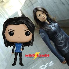 Inspired by designer toys and stylized character collectibles the world over, Funko is back with POP! Agents of Shield Vinyl Figures! POP Marvel Melinda May features the veteran pilot and weapons expert Melinda May in her signature outfit. This adorable collectible figure of Agent May is given a fun, and funky, stylized look! The unique design brings Funko's house style into the world of plastic figures, and we just know that Agent May is going to look great on your desk or your shelf.