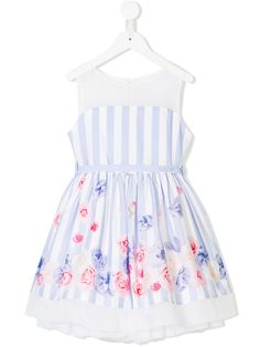 Designer Casual Dresses for Girls – Relaxed Girly Styles Toddler Girl Outfits, Kids Outfits, Girls Casual Dresses, Summer Dresses, Floral Dress Outfits, Floral Stripe, Fashion Kids, My Wardrobe, Dresses For Sale