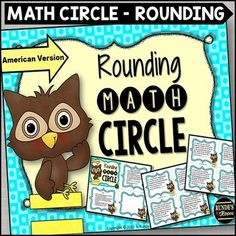 Get your students up and moving to practice rounding skills - students tape number cards to their shirts, and have to arrange themselves into small groups to show the number they need to round to on the cards.