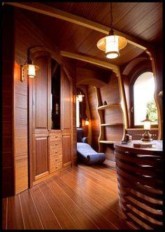 Yacht interior design by Sa-Fa Design: